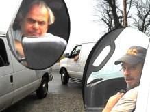 Organized Gang Stalking White Van Perps
