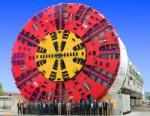 Bertha Tunnel Boring Machine