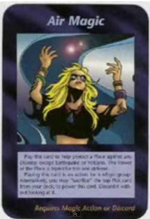 Air-Magic 2 Illuminati Card