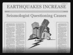 earthquake newspaper