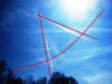 Square & Compass Chemtrail