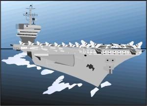 USS Carl Vincent - bin Laden