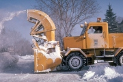 Snow Blowing Machine