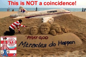 Flight MH370 Waldo