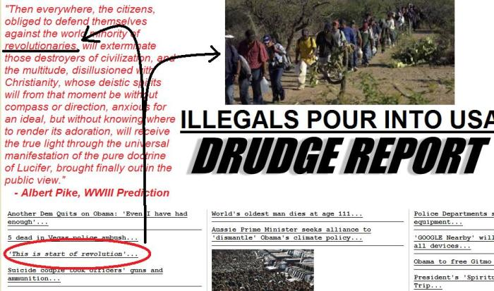 •—• CHAOS before ORDER •—• These are not children. These are young men who have the potential to do great harm to America. Why is our government allowing these 'gangs' to simply walk across the border? I believe it is part of a great plan, that plan being: CHAOS before ORDER.