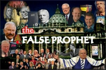 "ANTI-CHRIST, FALSE PROPHET REVEALED The modern Evangelicals do not want to admit that the Papacy is the anti-Christ. WHY IS THIS? Because if they do, they have to acknowledge that they are the FALSE PROPHET ""... who leadeth into captivity..."" (Rev 13:10) Understanding the anti-Christ http://www.remnantofgod.org/books/docs/antichrist.pdf (Read more on photo description) My Youtube videos: Daniel's 70 Weeks Prophecy Video Series - https://www.youtube.com/playlist… http://christianitybeliefs.org/…/jesuit-end-times-antichri…/ ... ALSO: Nothing But The Truth: Tom Friess On The Papal Takeover Of America (https://youtu.be/qEc8Yy7-6PA) ...... THINK ABOUT IT __ If the Papacy really is the Biblical, historical, and prophetic anti-Christ that is drunk with the blood of the saints, and the modern Evangelical church is teaching an 'end-time anti-Christ,' then the apostate modern church IS the False Prophet of Revelation. The 'chief' Anti-Christ teaches 'another Christ' while the 'chief' False Prophet teaches 'another anti-Christ'. Working hand-in-hand, the Anti-Christ devours while the False Prophet feeds. Some have suggested that the Jesuits are the False Prophet, but the Jesuits are not 'Daughters of the Harlot'. The Jesuits are the fangs or claws of the Harlot, who inject their poison into the non-Catholic religions. The key to understanding is identifying the Harlot or Mother of Harlots, the MADAM, and Her Whores She Pimps out, to be direct. Yes, the false doctrine originated from the Jesuits but it was the Harlot Protestant churches that DRANK OF THE WINE OF HER FORNICATION."
