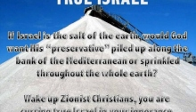 True Israel- Salt of the Earth