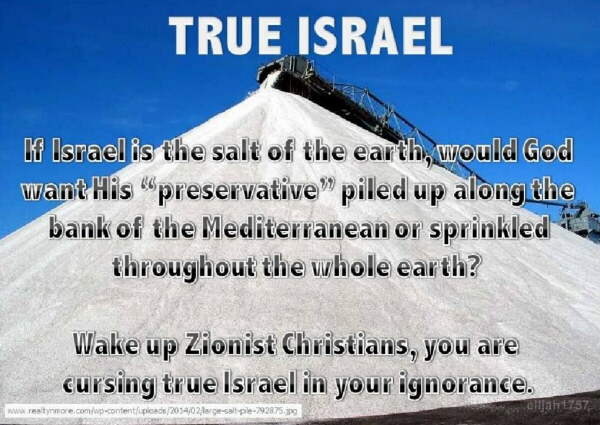 True Israel- Salt of the Earth