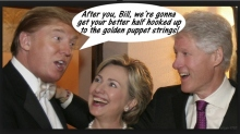 Donald Trump and Clintons are Puppets