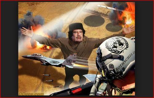 Dee's Illustrations - Gaddafi