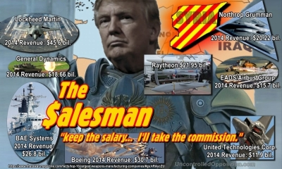 Trump Weapon Salesman
